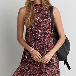 Soft and Sexy American Eagle XS Paisley dress